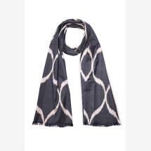 -Hand-woven silk scarf-2