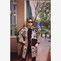 -Hand-woven silk scarf-20
