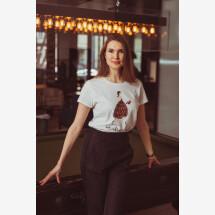 -Organic t-shirt Belle-21