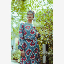 -Ikat dress Belle-21