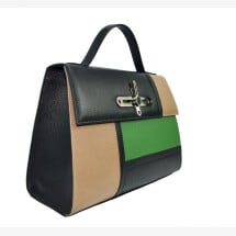 -Berlin Tricolor green bag-21