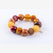 -Pearl bracelet New Bowls Lounge Wear made of a fine material mix-21