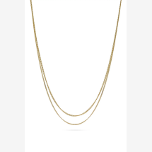 -Le Double Grumetta Necklace Gold-21