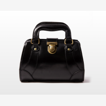 -JAQUELINE Small Leather Gladstone Bag-21