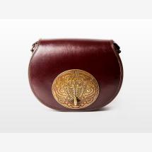 -KOEY Special Brown Leather Handbag-21