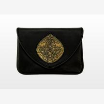 -MANUELA Embellished Black Leather Handbag-21