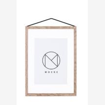 -moebe A3 Frame picture frame oak-21