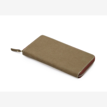 -Olive zippered wallet-21