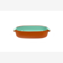 -BAKEWARE OVAL SMALL MINT H6 X 29 X 15-21