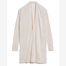 -Cream-colored knitted cardigan AALMUT from Tencel-21