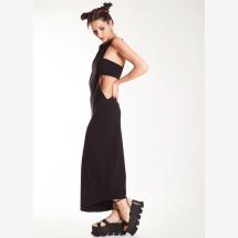 -Black Long Band Dress from NOSTRASANTISSIMA-21