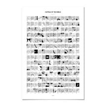 -Capital cities of the world Poster-21