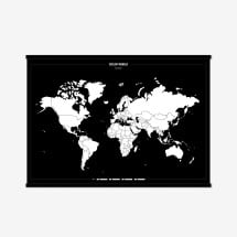 -Framed Color Your World Map-21