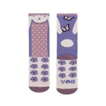 -Butterfly Bunny Midi Socks-21