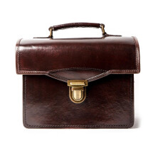-CAMINO BROWN Vintage Style Box Handbag / Camera Bag-25