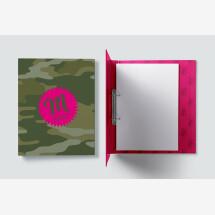 "-Personalized Folder ""Camouflage""-2"