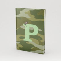 "-Personalized book A5 ""Camouflage""-2"