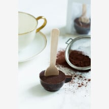 -hot spoon with dark chocolate 71%-21
