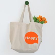 -Happy Extra-Großer Statement Shopper-21
