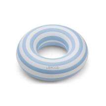 -Liewood Baloo swim ring Stripe Sea blue / creme de la creme-21
