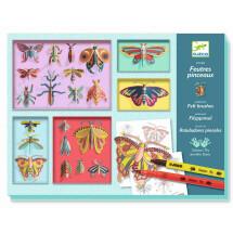 -Djeco Felt Pens Cabinet Of Curiosities Colorful Paper Frames-21