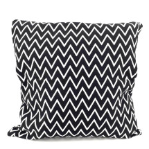 -Pillow Zig Zag 50x50 cm Scandistyle black white Orskov Danmark-23