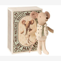 -Maileg soft toy brother mouse in box-21