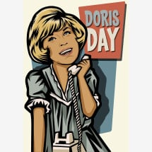-Doris Day Print A4-21
