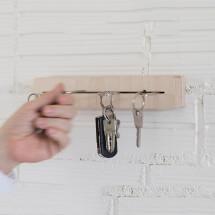 -Wooden key board DELINE-20