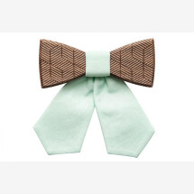 -BeWooden Denique wooden bow tie-23