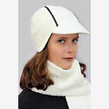 -Creamy white round cap DINA_242-21