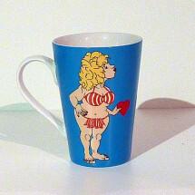"""-Porcelain cup """"Doro blue""""-2"""