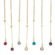 -Hint Of Color Necklace-22