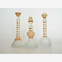 -Bottle set 3 gold rim-21