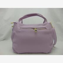 -Leather handbag lilac-21