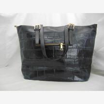 -Leather handbag crocodile-21