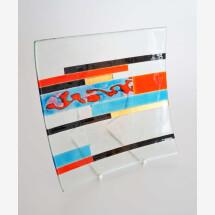 """-Glas Schale"""" Dekor 02-21"""