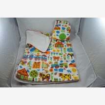 -Cuddly hooded towel with farm animals-21