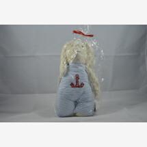 -Cuddly toy bunny blue-21