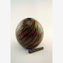 "-Murano Glass Blown Vase ""TXARRO TONDO""-23"