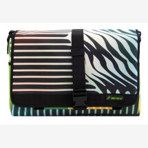 -Brompton Bag Fontana // Green stripes-25