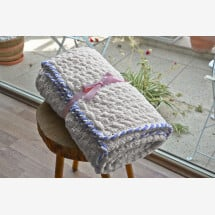 -Wool crochet blanket-21