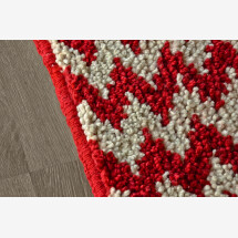 -Wool rug Running water-23