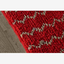 -Wool rug Zigzag-23