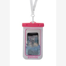 -SEAWAG waterproof cell phone cover white / pink-21