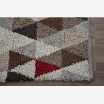 -Wool rug Triangle-22