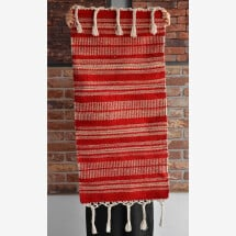 -Handmade wool kilim runner_red-21