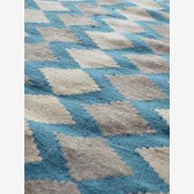 -Handmade wool kilim rug_Honeycombe-22