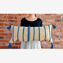 -Kilimwolle cushion cover_Large lumbar spine embroidered with felt details-21