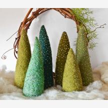 -Set o 3_Handmade Felt Christmas Tree-21